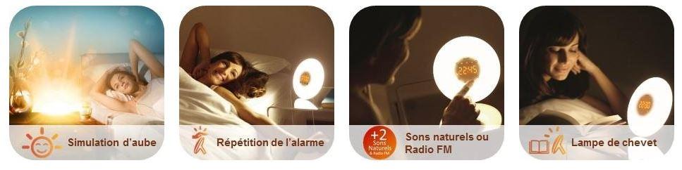 Le Réveil Philips Mon Sur Hf350605Seul Avis Eveil Lumière NOX80wnPk